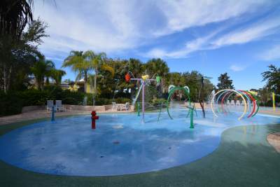 Bahama Bay resort splash area