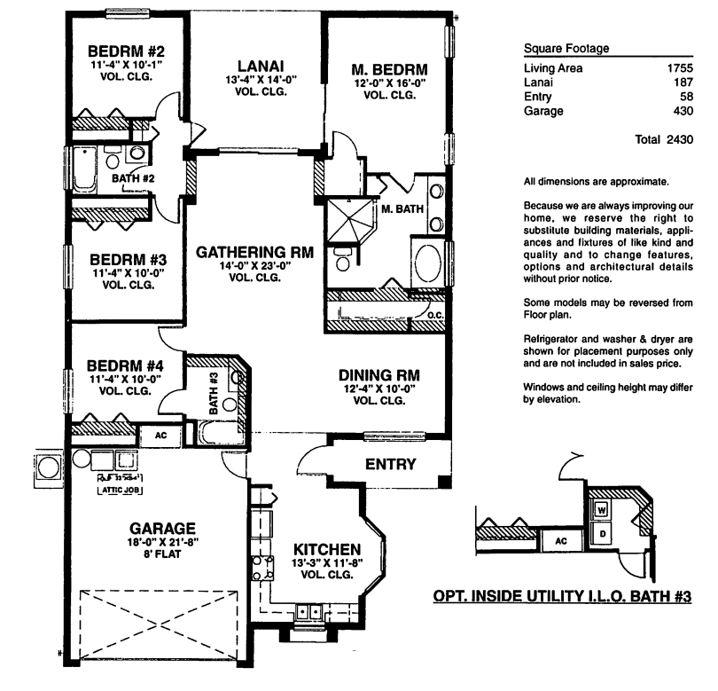 Plan 66342we 3 Bed Beauty With 2 Lanai: Orange Tree Real Estate, Clermont
